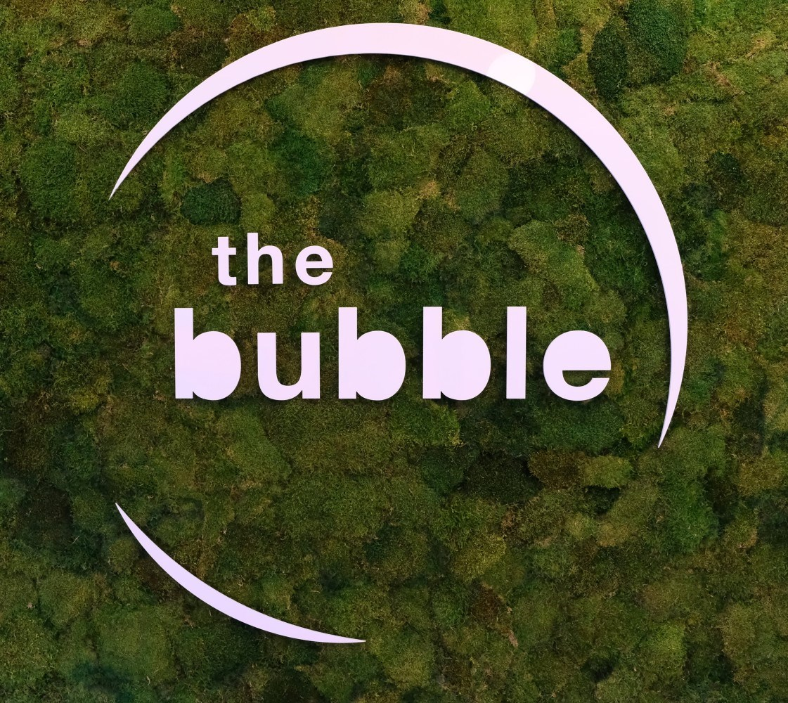 The Bubble logo